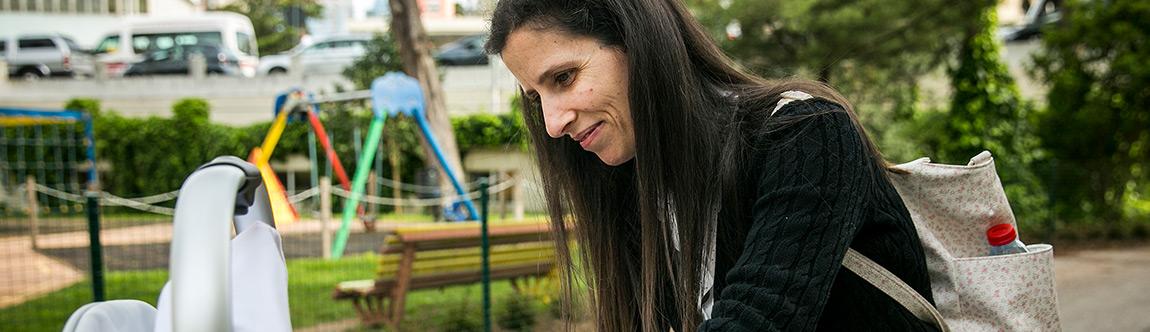 Ana Sofia, mãe de Leonor