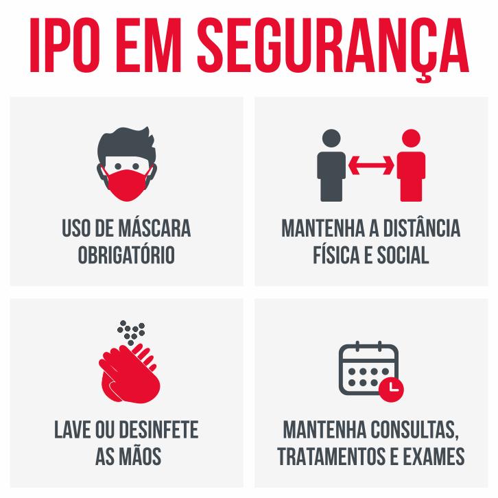 Novas recomendações para doentes do IPO