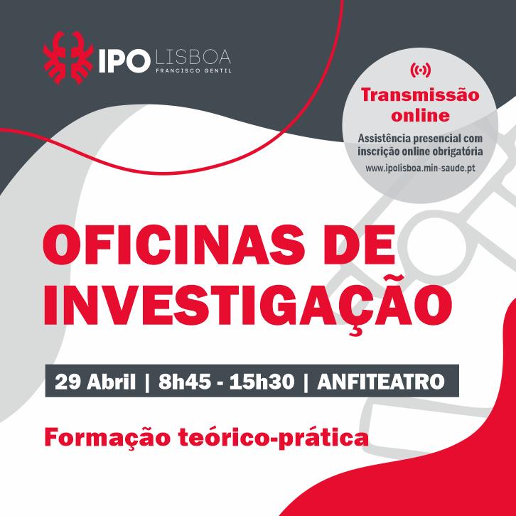 Oficinas de investigação no IPO Lisboa