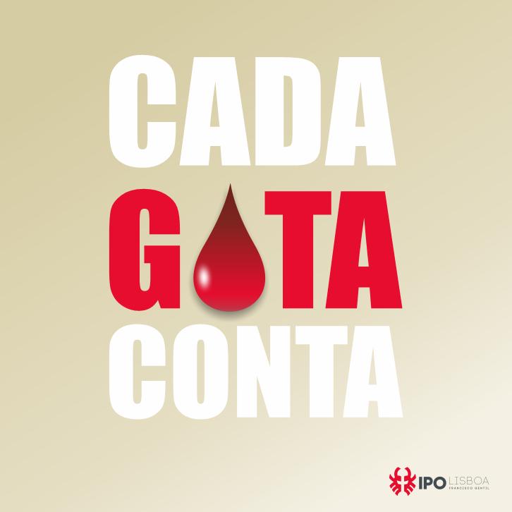 Cada gota conta, dê sangue no IPO Lisboa